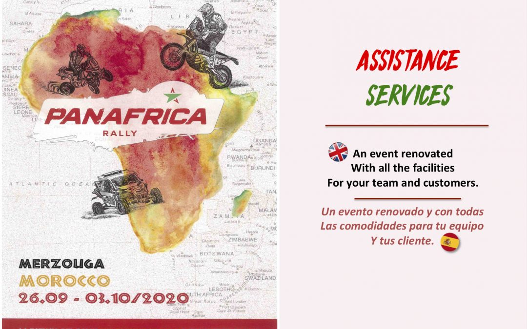 ASSISTANCE TEAMS: WELCOME TO PANAFRICA!
