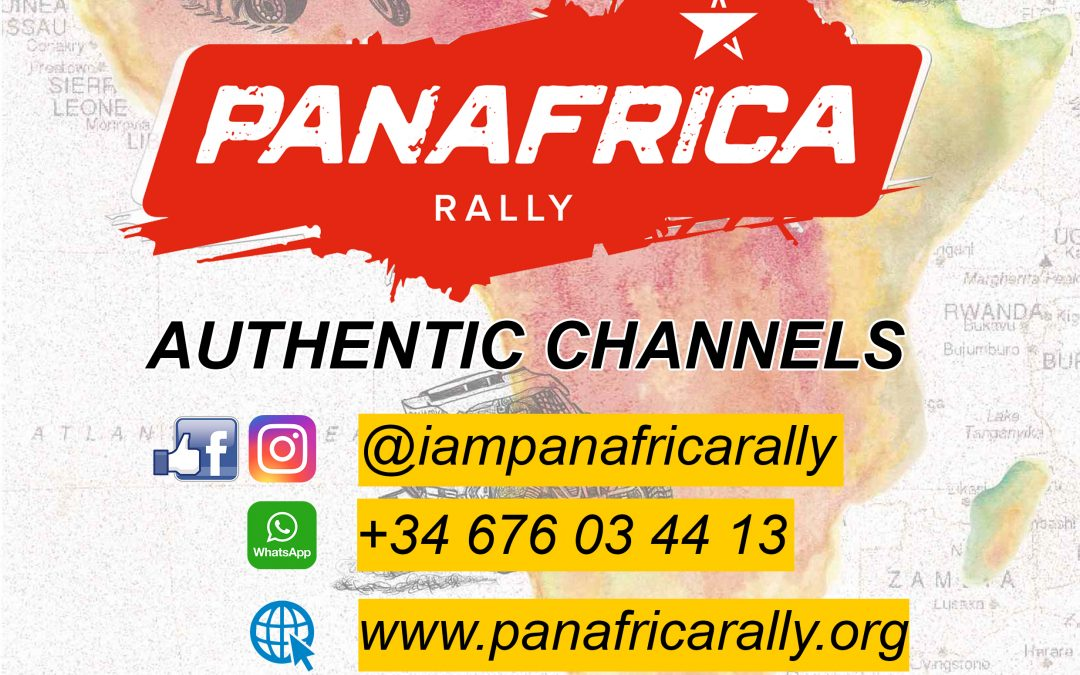 AUTHENTIC INFORMATION: Panafrica Rally 2020 KEEP GOING!